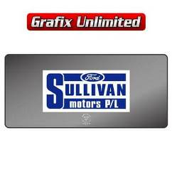 Dealership Decal, Sullivan Motors