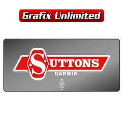 Dealership Decal, Suttons Darwin