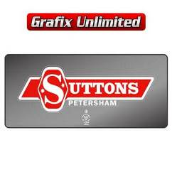 Dealership Decal, Suttons Petersham