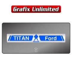 Dealership Decal, Titan Ford