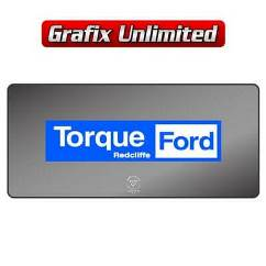Dealership Decal, Torque Ford Redcliffe
