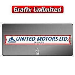 Dealership Decal, United Motors Adelaide