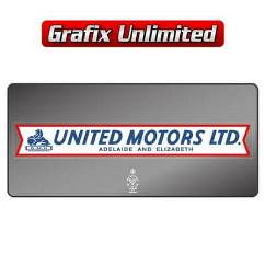 Dealership Decal, United Motors Adelaide & Elizabeth