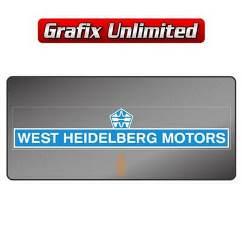 Dealership Decal, West Heidelberg Motors