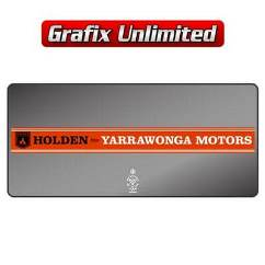Dealership Decal, Yarrawonga Motors