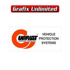 Endrust Vehicle Protection Systems Decal