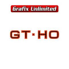 Glove Box Decal, GT HO