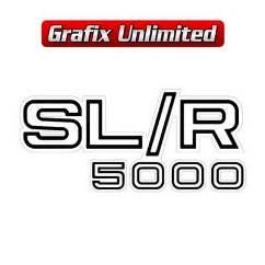 Guard/Spoiler Decal, SLR 5000