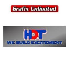 HDT We Build Excitement Decal