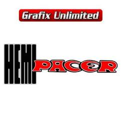 Hemi Pacer Decal