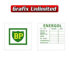 Lube Decal, BP Energol