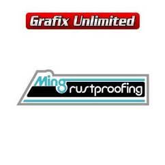 Ming Decal, Rustproofing