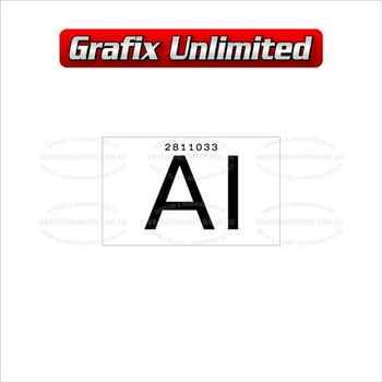 Part Label, Radiator AI 2811033