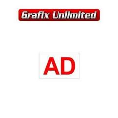 Part Label, Starter Motor AD