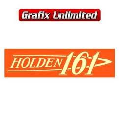 Rocker Cover Decal, 161 Holden