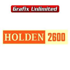 Rocker Cover Decal, Holden 2600 Type 2
