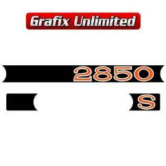 Rocker Cover Decal Set, 2850 S