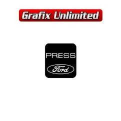 Seat Belt Decal, Ford Press