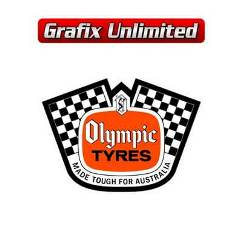 Spare Tyre Decal, Olympic