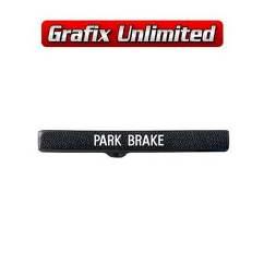 Stencil, Park Brake