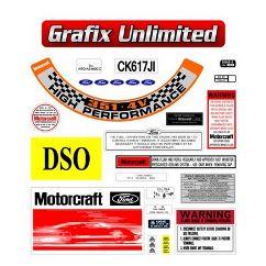 Sticker Kit, XA GT Full Restoration