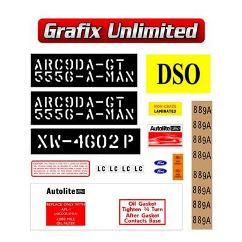 Sticker Kit XW GT Cleveland Full Restoration
