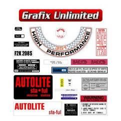Sticker Kit, XW GT Windsor Full Restoration
