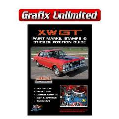 Sticker Position Guide, XW GT