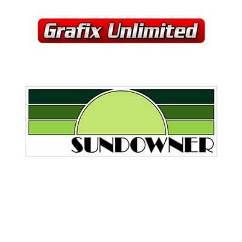 Sundowner Gaurd Decal, Green