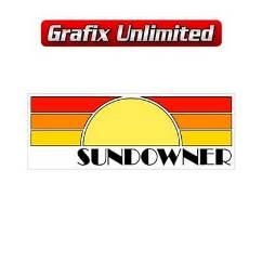 Sundowner Gaurd Decal, Yellow