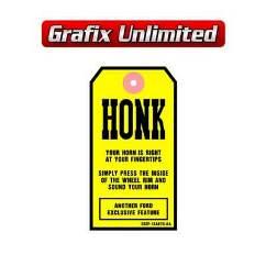 Tag, Honk Horn