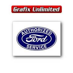 Tin Sign, Authorised Ford Service