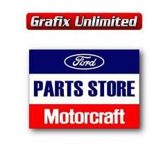 Tin Sign, Motorcraft Parts Store