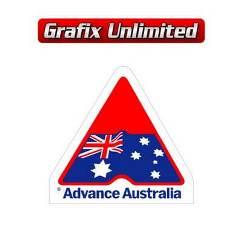 Windscreen Decal, Advance Australia