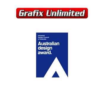 Windscreen Decal, Australian Design Award 2