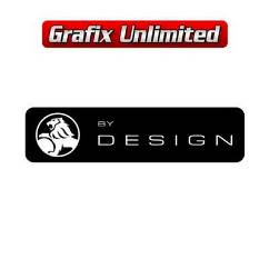 Windscreen Decal, Holden by Design